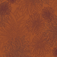 Russet Orange From Floral Elements By AGF Studio