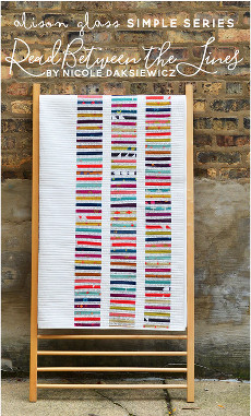 Read Between The Lines Quilt Pattern By Alison Glass