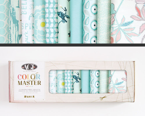AGF Colormaster Half Yard Collectors Set - Fresh Water Edition