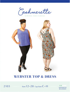 Webster Top & Dress Pattern By Cashmerette