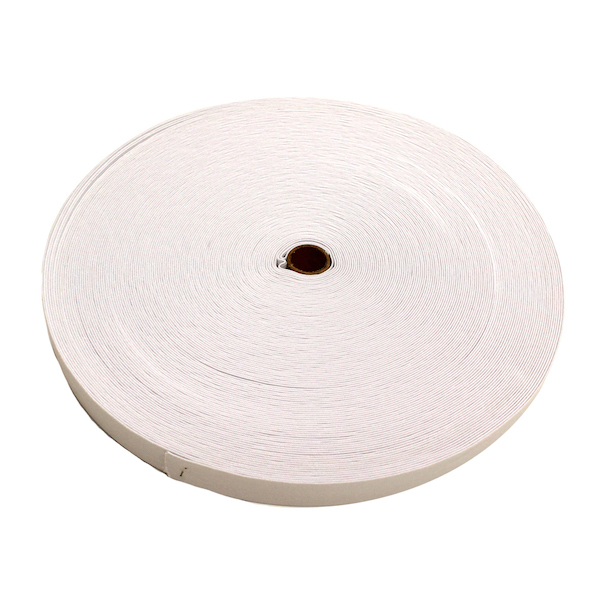 Knit Elastic White 19mm (3/4in) spool 92m (100yd)