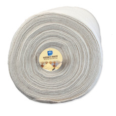 Legacy Needle Punched Fusible Cotton Batting -13.7m (15yds) X 152cm (60in)