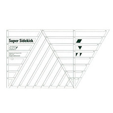 Super Sidekick Ruler by Jaybird - 8.5in X 15.25in