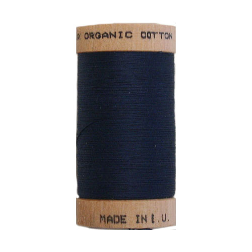 Scanfil Organic Thread 100 Metre Spool - Denim Blue