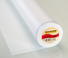 Vilene Easy Fuse Heavy Iron-On Interfacing 90cm X 25 Metre - White