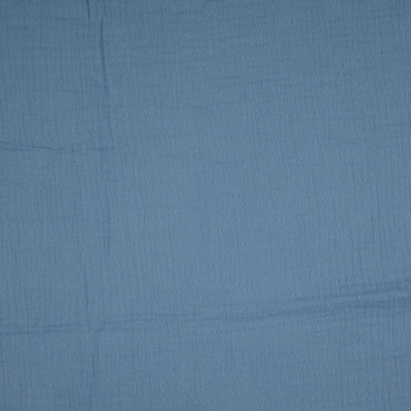 Denim Blue Double Gauze from Sakata by Modelo Fabrics