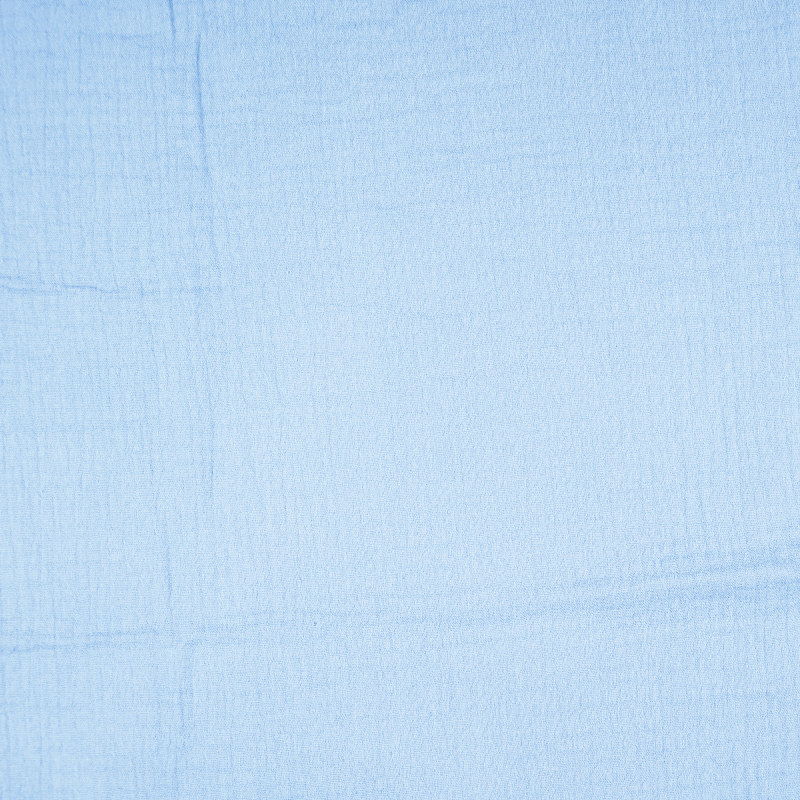 Pastel Blue Double Gauze from Sakata by Modelo Fabrics