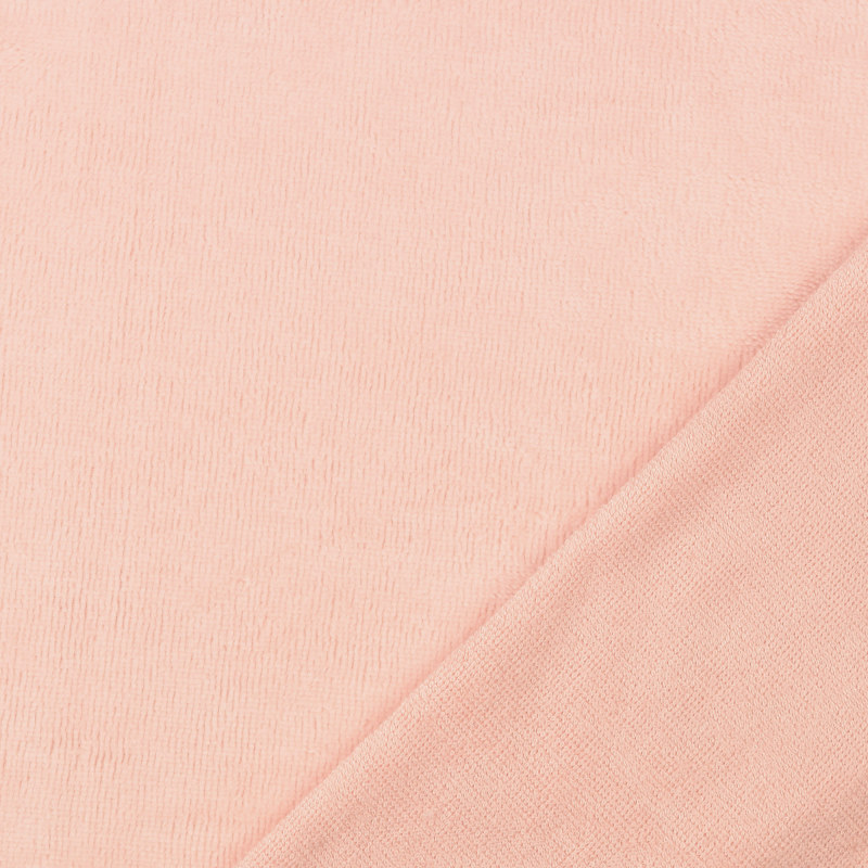 Pink Bamboo Blend Towelling Fabric