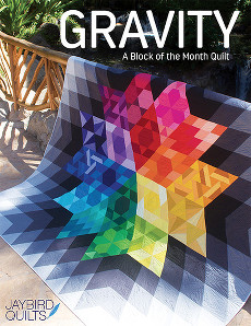 Gravity Quilt Book - Jaybird Quilts