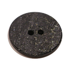 Acrylic Button 2 Hole Textured Speckle 12mm Black