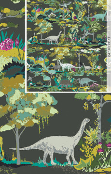 Dinosauria In Canvas From Esoterra Designed By Katarina Roccella For AGF
