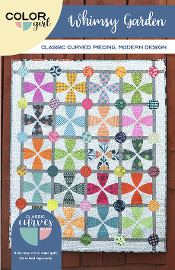 Whimsy Garden Quilt Pattern - Color Girl