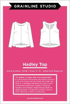 Hadley Top Pattern By Grainline Studio