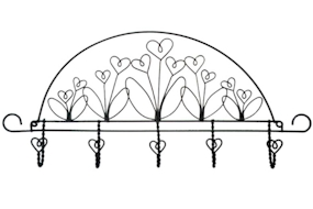 22in Flower Garden Accessory Holder