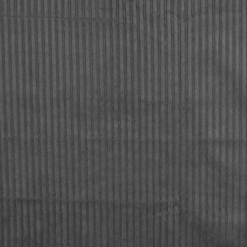 Danbury Dark Grey Chunky Needlecord Fabric