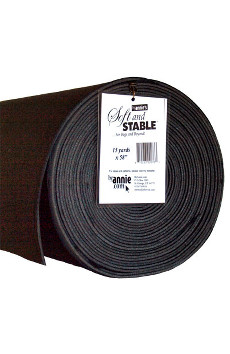 Soft And Stable Foam 58in X 15yd Roll Black