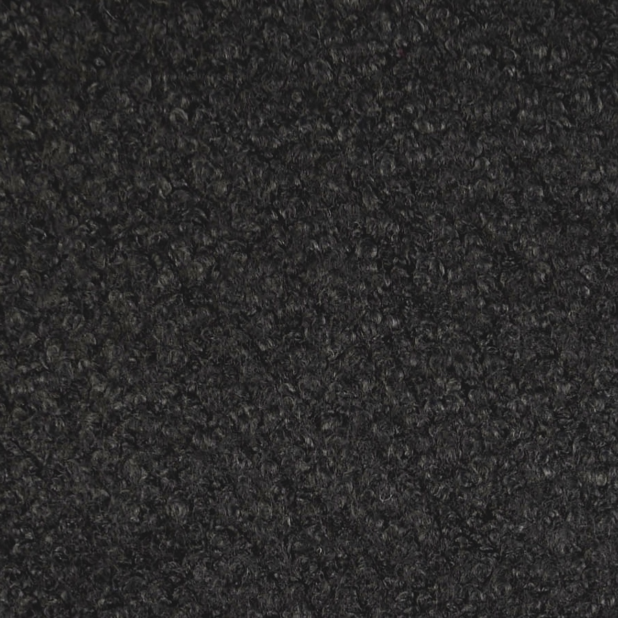 Pembroke Black Wool Blend Boucle Coat Fabric