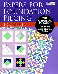 Paper For Foundation Piecing 100 Per Pack