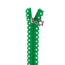 Star Zip 25cm Length - Apple