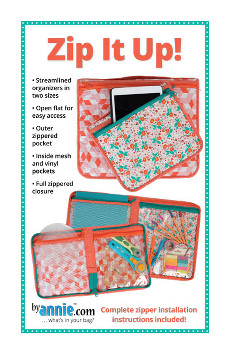 Zip It Up Organiser Pattern By Annie