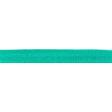 Light Turquoise Knit/tricot Binding Single Fold 95% Cotton/5% Lycra - 20mm X 25m