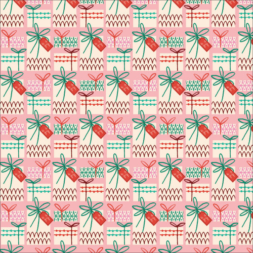Gift Wrapped Pink Multi from Christmas Past by Lori Rudolph