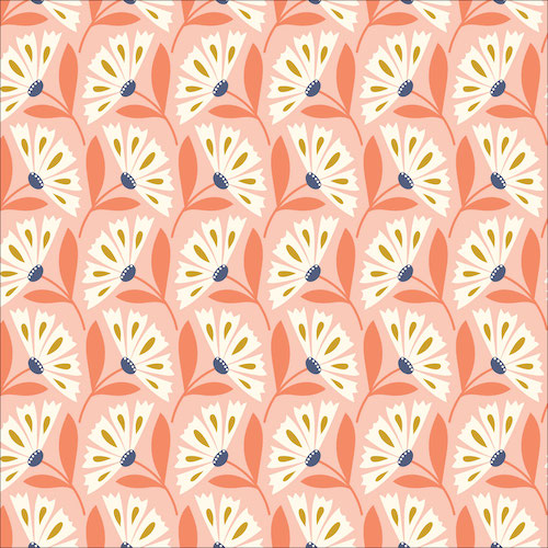 Organic Daisy Pink from Floral Deco by Elizabeth Olwen