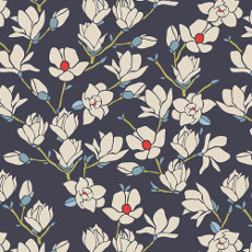Charleston Magnolia Nightfall - Art Gallery Fabrics Per Metre