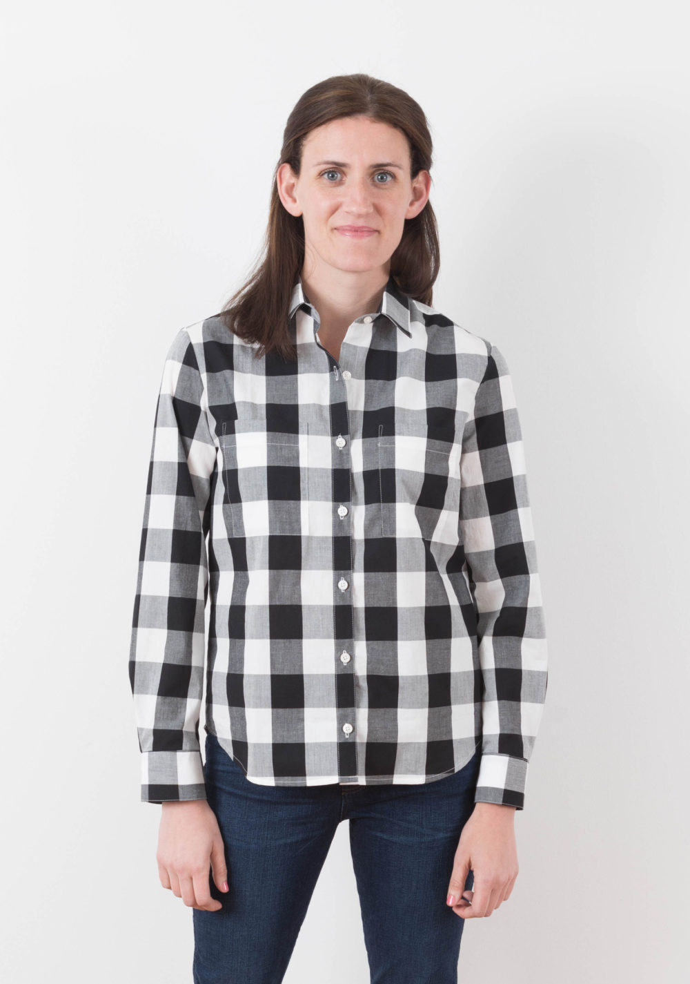 Archer Button Up Shirt Pattern By Grainline Studio