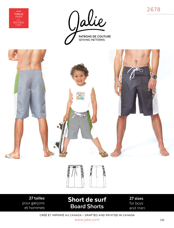 Board Shorts by Jalie