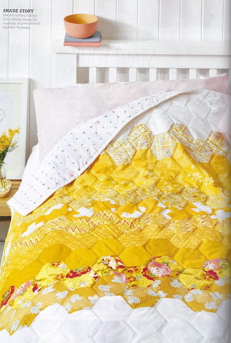 Love Patchwork & Quilting Issue 74 - Golden Hour Quilt
