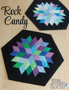 Rock Candy Table Topper - Jaybird Quilts Patterns
