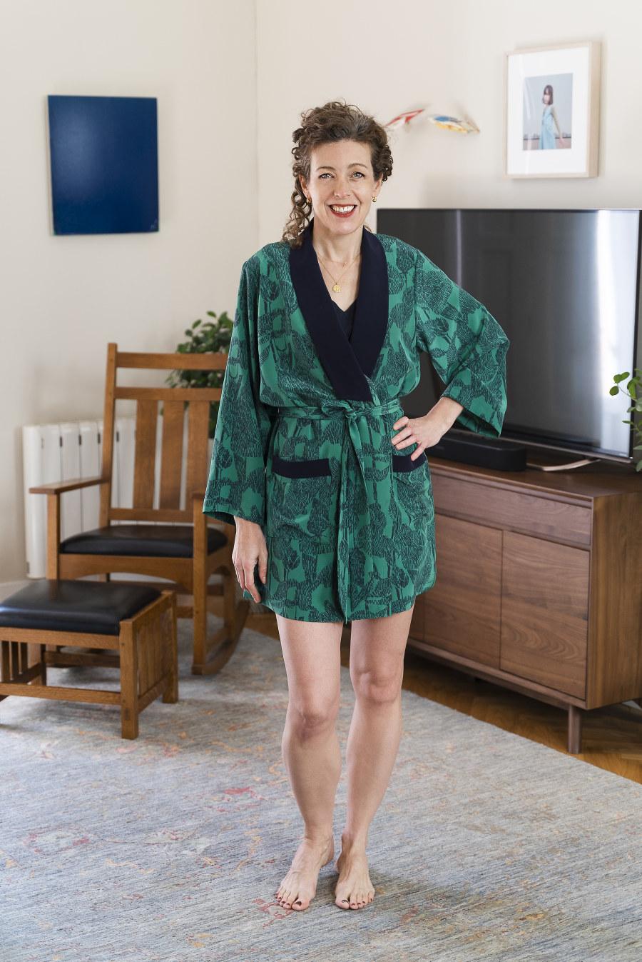 Wynwood Robe + Sleep Shorts Pattern by Liesl + Co