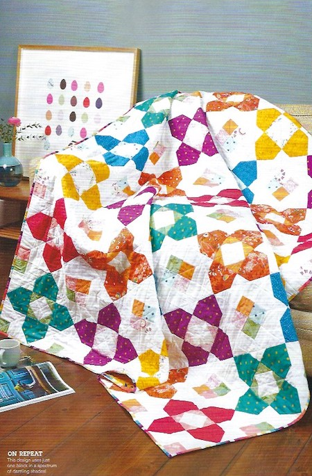 Love Patchwork & Quilting Issue 75 - Shade Parade Quilt