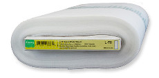 Legacy Sew-n-shape Sew In Ultra Firm Interfacing White - 9.2m (10yds) X 50cm (20in)