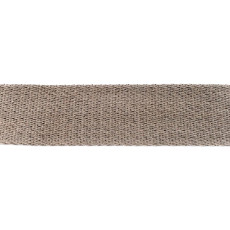 Light Grey Cotton Webbing - 40mm X 50m