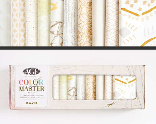 AGF Colormaster Fat Quarter Collectors Set - Winter Wheat Edition
