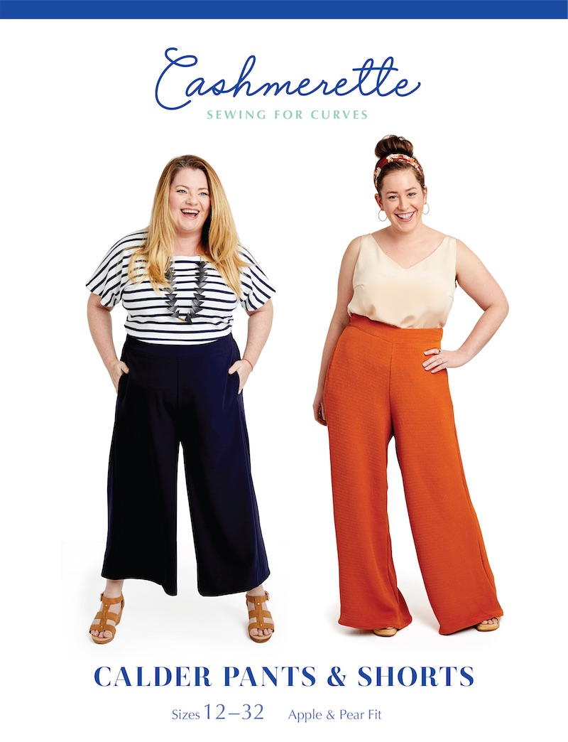 Calder Pants & Short Pattern by Cashmerette
