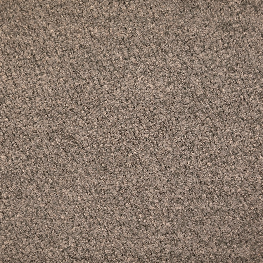 Pembroke Dark Grey Wool Blend Boucle Coat Fabric