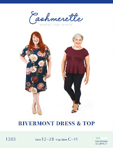 Rivermont Dress & Top By Cashmerette