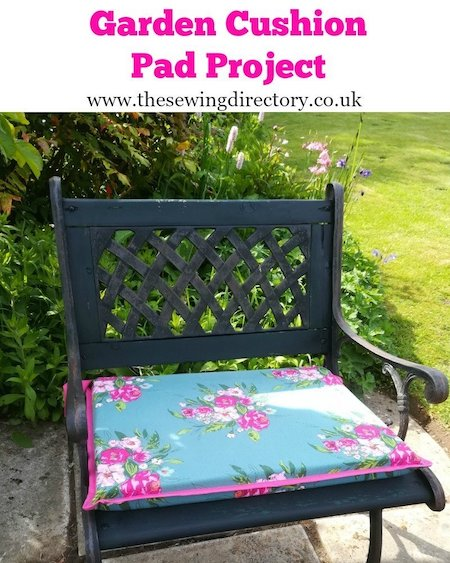 The Sewing Directory - Garden Cushion Pad Project