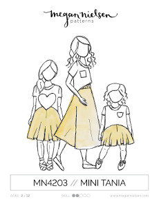Mini Tania Culottes Pattern - Megan Nielsen Patterns