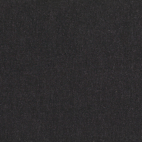 Black Stretch Denim Fabric