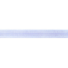 Light Blue Foldover Elastic - 16mm X 25m
