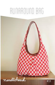 Runaround Bag Pattern by Noodlehead