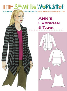 Anns Cardigan & Tank Pattern By The Sewing Workshop