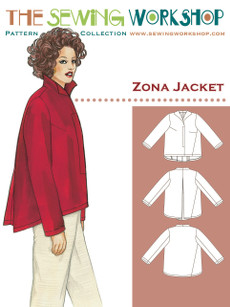 Zona Jacket Pattern By The Sewing Workshop