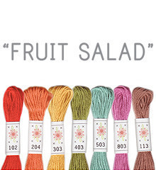 Fruit Salad - Sublime Floss Selection Pack - 7pcs