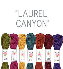 Laurel Canyon - Sublime Floss Selection Pack - 7pcs