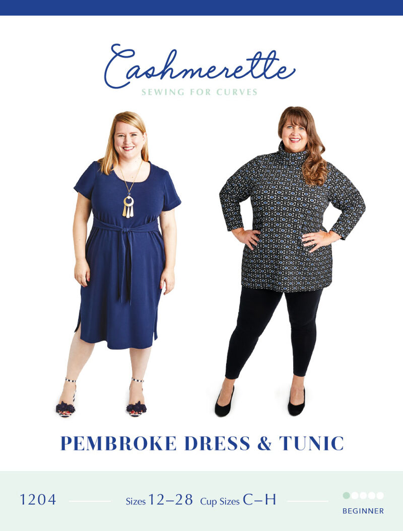 Pembroke Dress and Tunic Pattern By Cashmerette